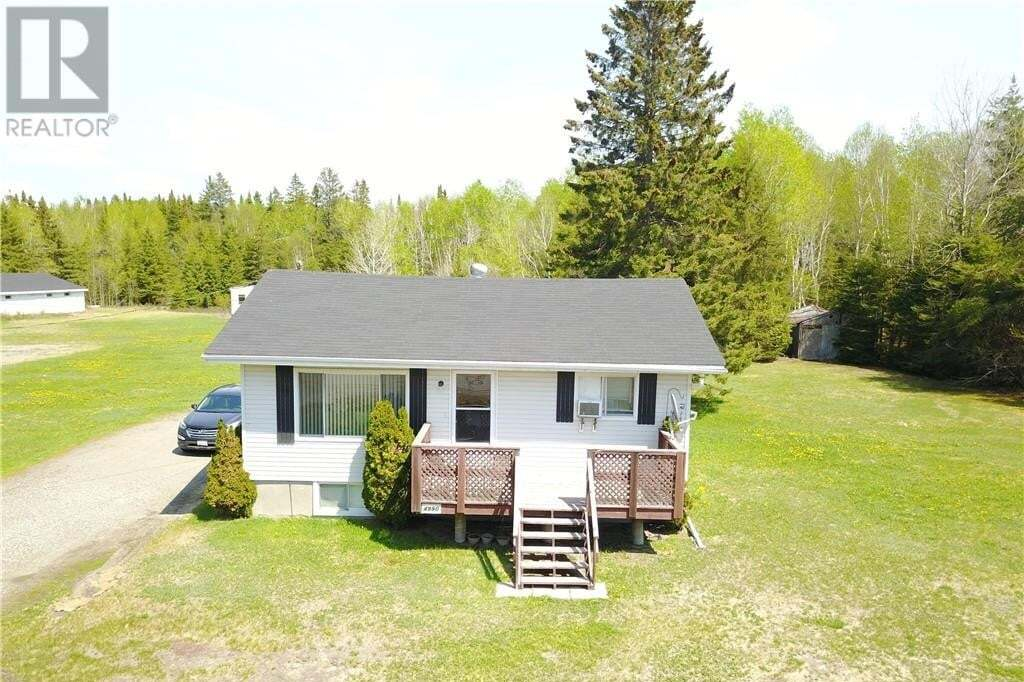 House for sale at 4990 Desmarais Rd Hanmer Ontario - MLS: 2085517