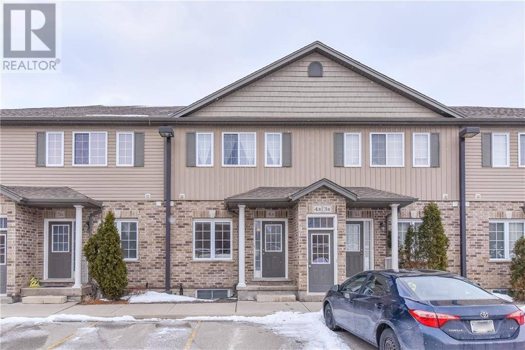 Townhouse for sale at 38 Howe Dr Unit 4a Kitchener Ontario - MLS: 30791282