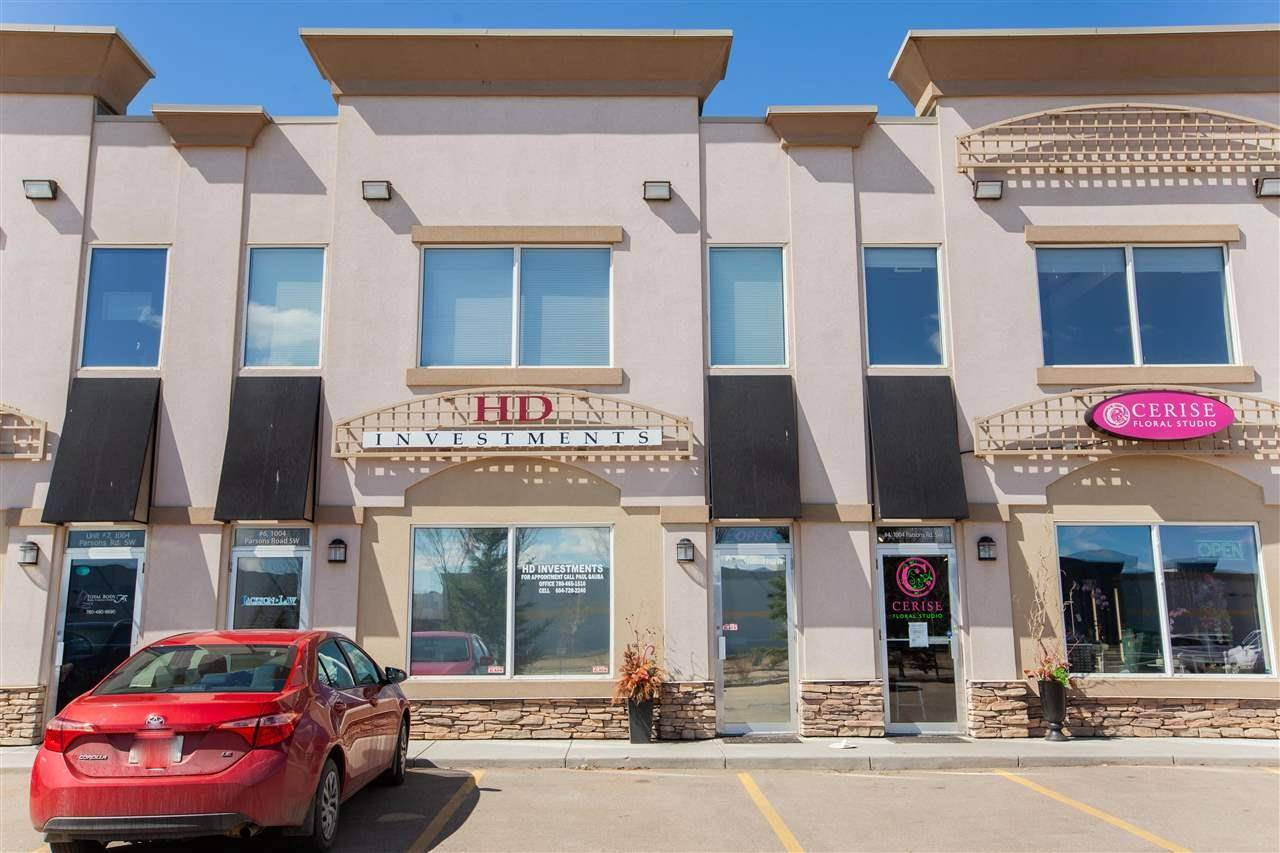 Commercial property for sale at 1004 Parsons Road Rd Sw Unit 5 Edmonton Alberta - MLS: E4191726