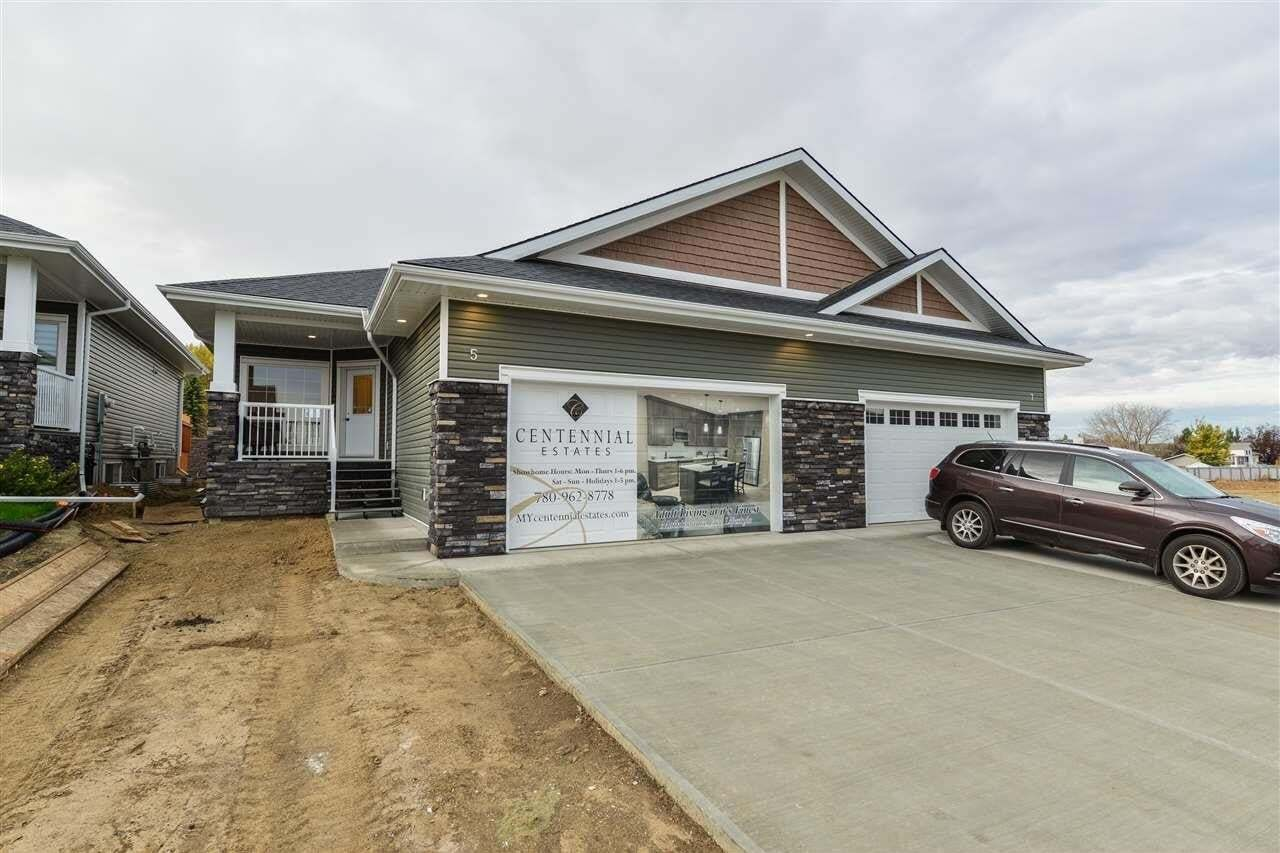 Townhouse for sale at 1005 Calahoo Rd Unit 5 Spruce Grove Alberta - MLS: E4217767