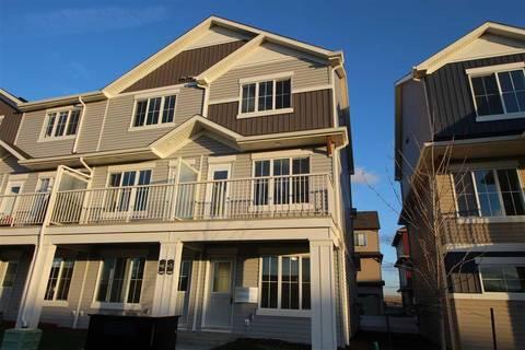 Townhouse for sale at 1110 Daniels Li Sw Unit 5 Edmonton Alberta - MLS: E4161597