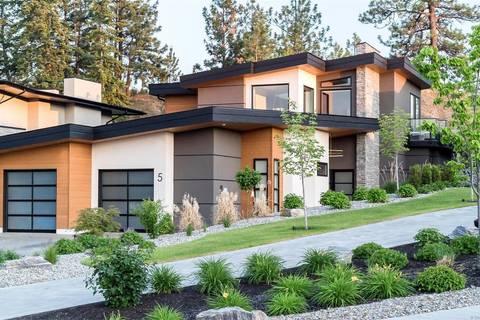 House for sale at 1150 Mission Ridge Rd Unit 5 Kelowna British Columbia - MLS: 10196463