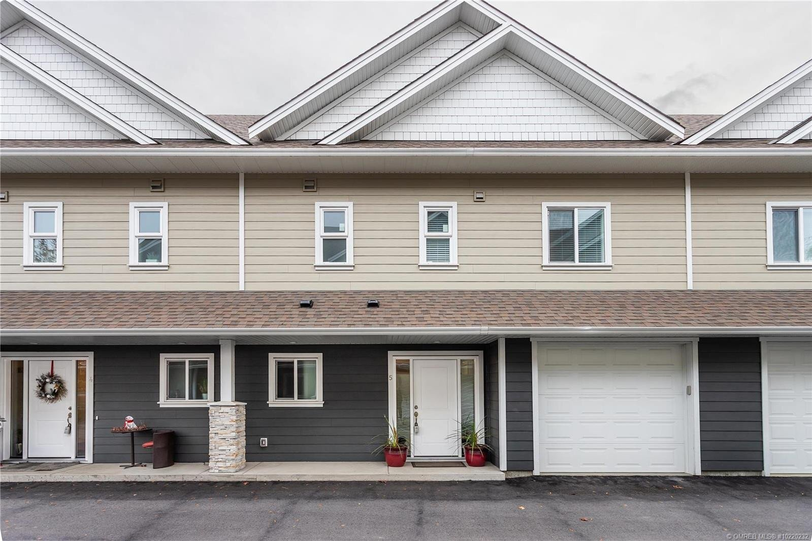 Townhouse for sale at 11511 Bottom Wood Lake Rd Unit 5 Lake Country British Columbia - MLS: 10220232