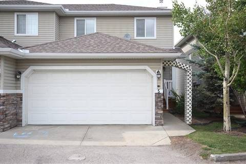Townhouse for sale at 117 Bow Ridge Dr Unit 5 Cochrane Alberta - MLS: C4268054