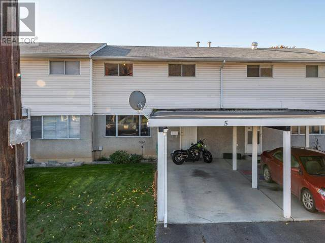 Townhouse for sale at 1173 Ponlen St Unit 5 Kamloops British Columbia - MLS: 153930