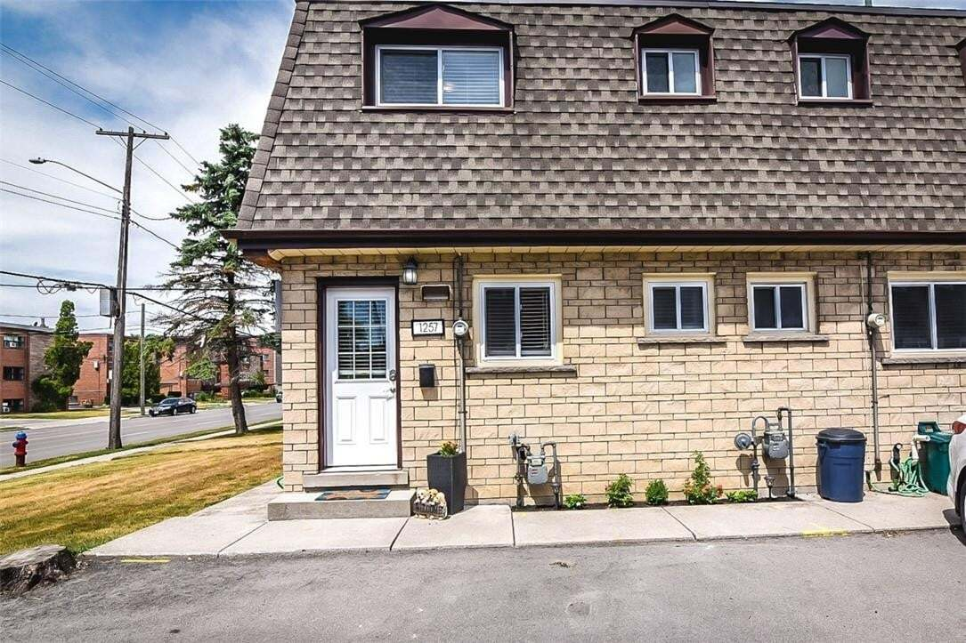 Townhouse for sale at 1257 Fennell Ave E Unit 5 Hamilton Ontario - MLS: H4082291