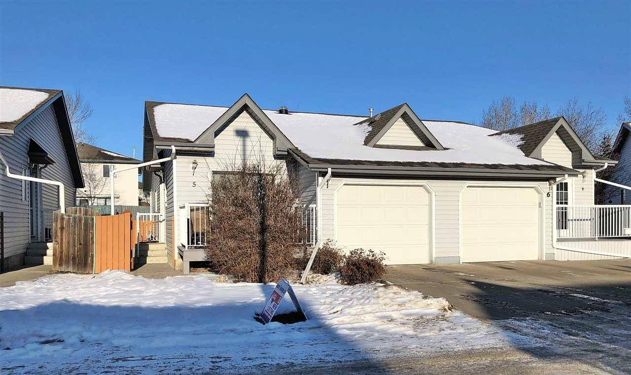 Townhouse for sale at 12603 152 Ave Nw Unit 5 Edmonton Alberta - MLS: E4183534