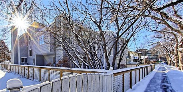 For Sale: 127 11 Avenue Northeast, Calgary, AB   2 Bed, 2 Bath Townhouse for $400,000. See 35 photos!