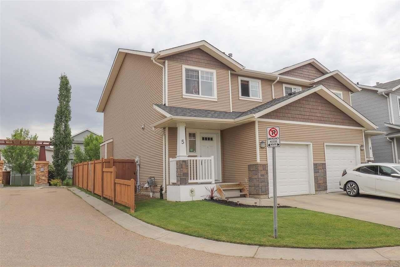 Townhouse for sale at 14208 36 St NW Unit 5 Edmonton Alberta - MLS: E4205679