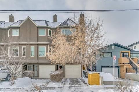 Townhouse for sale at 1423 1 St Northwest Unit 5 Calgary Alberta - MLS: C4225299