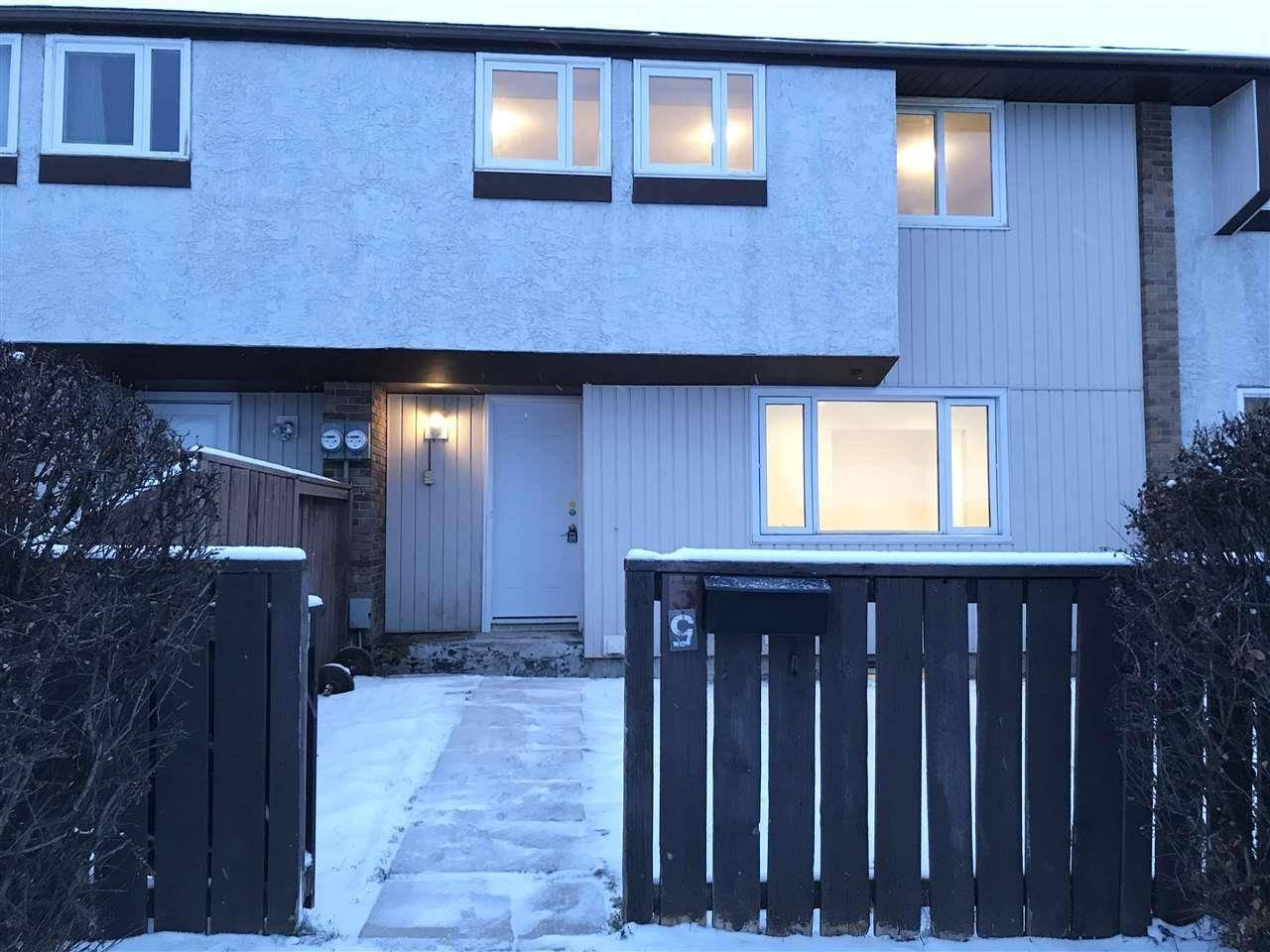 Townhouse for sale at 14320 80 St Nw Unit 5 Edmonton Alberta - MLS: E4181997