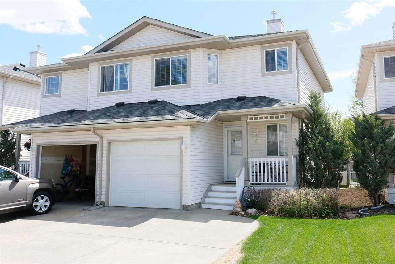Townhouse for sale at 16933 115 St NW Unit 5 Edmonton Alberta - MLS: E4200186