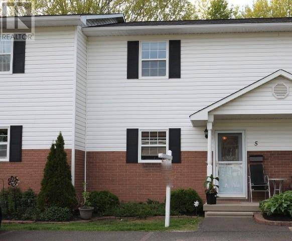House for sale at 173 Riverside Dr Unit 5 Fredericton New Brunswick - MLS: NB019235
