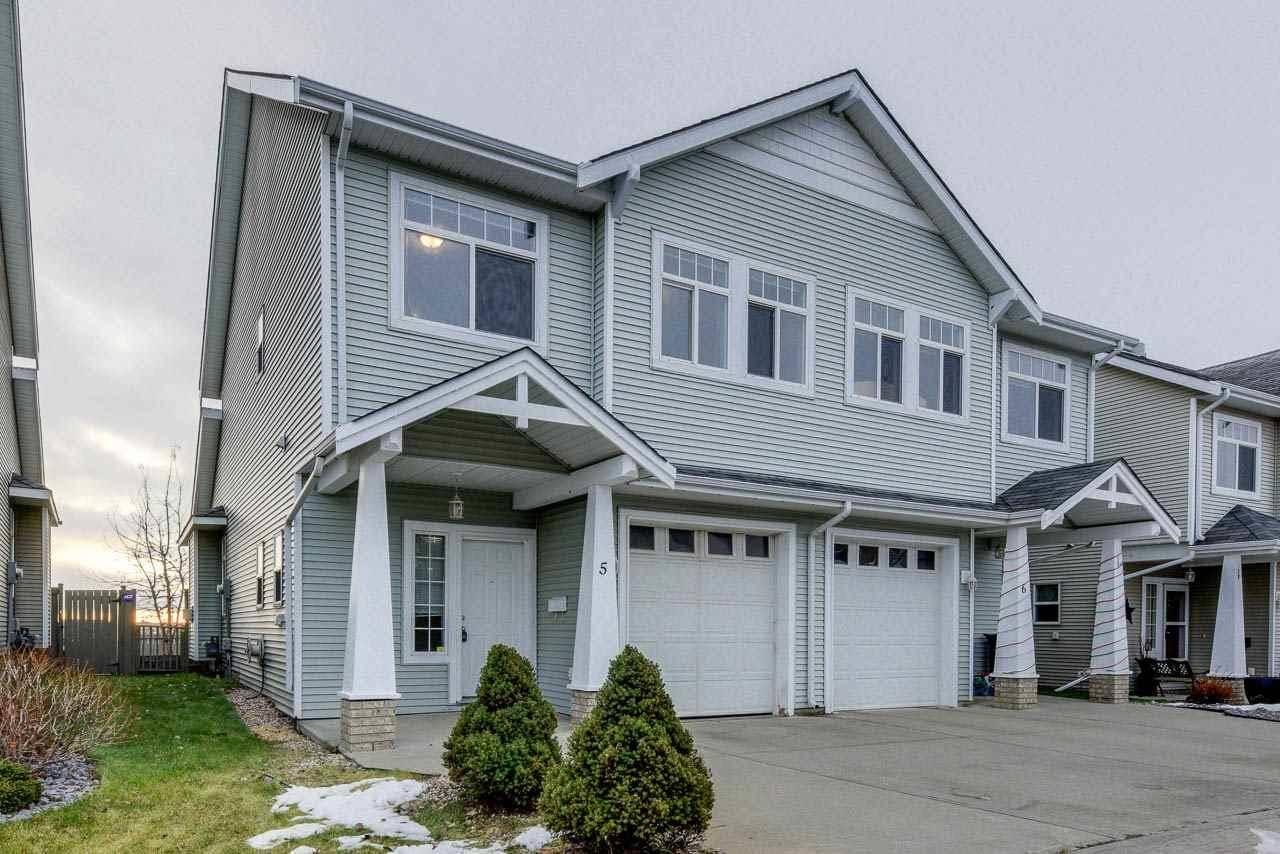 Townhouse for sale at 200 Erin Ridge Dr Unit 5 St. Albert Alberta - MLS: E4180744