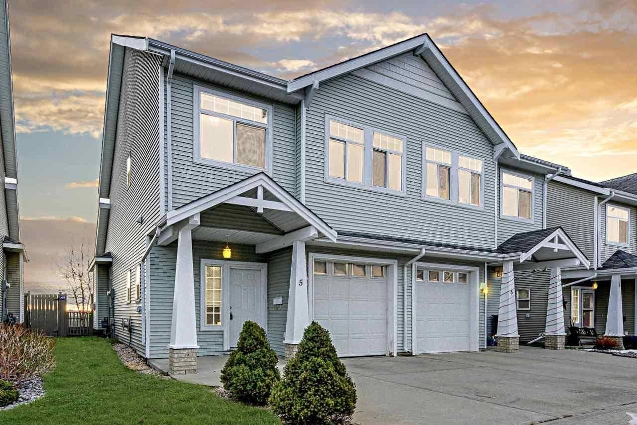 Townhouse for sale at 200 Erin Ridge Dr Unit 5 St. Albert Alberta - MLS: E4189382