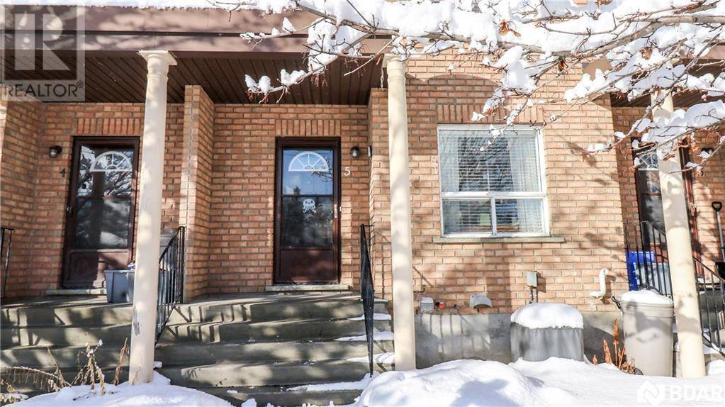 Townhouse for sale at 234 Cundles Rd East Unit 5 Barrie Ontario - MLS: 30781078