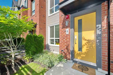 Townhouse for sale at 2358 Ranger Ln Unit 5 Port Coquitlam British Columbia - MLS: R2378708