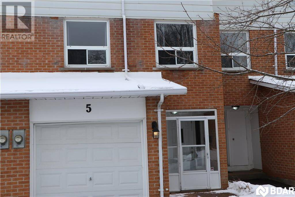 Townhouse for sale at 237 Steel St Unit 5 Barrie Ontario - MLS: 30792919