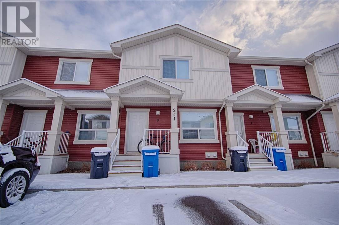 Townhouse for sale at 241 Silkstone Rd W Unit 5 Lethbridge Alberta - MLS: ld0190987