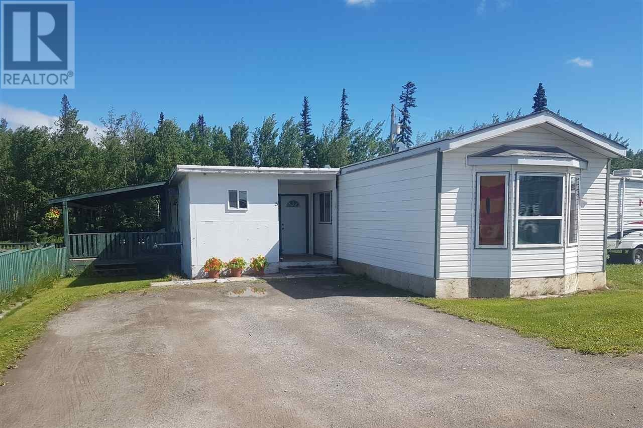 Residential property for sale at 2454 Grant's Frontage Rd Unit 5 Vanderhoof British Columbia - MLS: R2477939