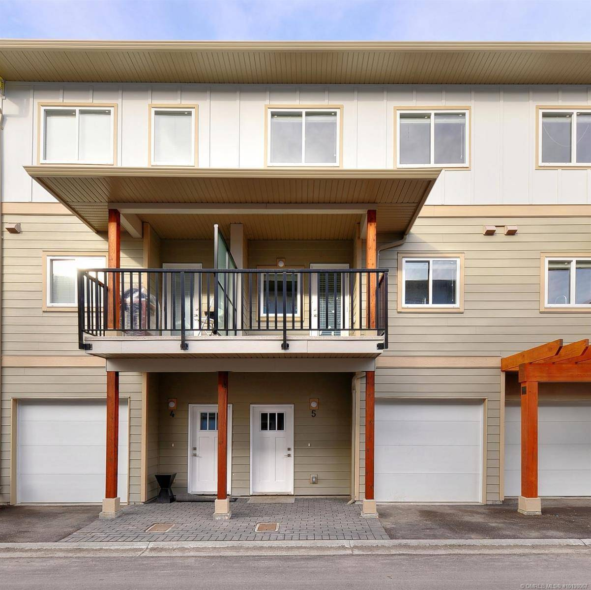 Townhouse for sale at 255 Taylor Rd Unit 5 Kelowna British Columbia - MLS: 10198067