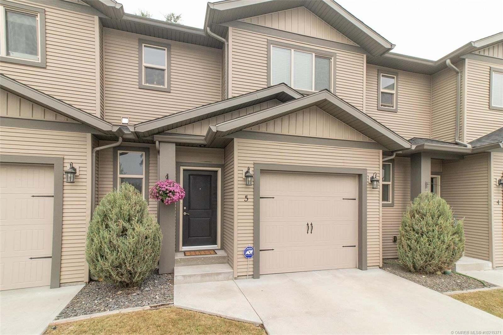 Townhouse for sale at 320 Nickel Rd Unit 5 Kelowna British Columbia - MLS: 10215371
