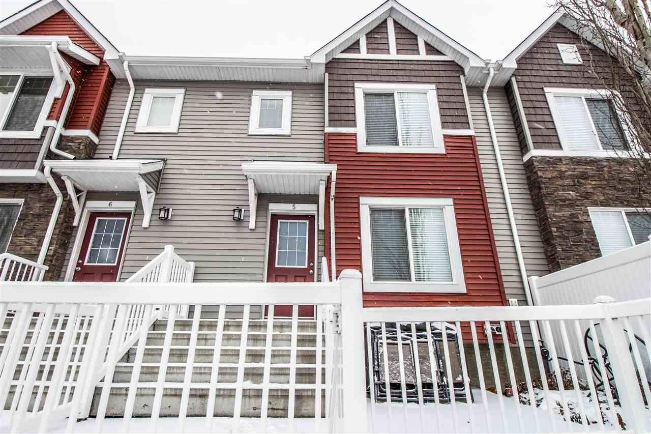 Townhouse for sale at 3625 144 Ave Nw Unit 5 Edmonton Alberta - MLS: E4181091