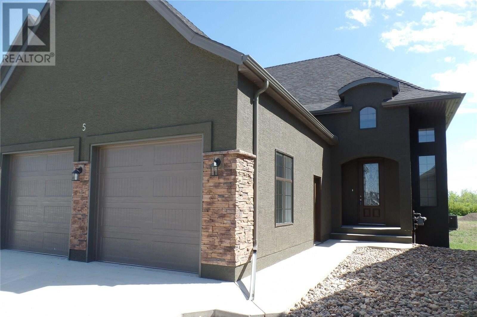 Townhouse for sale at 37 Hodges Cres Unit 5 Moose Jaw Saskatchewan - MLS: SK826008