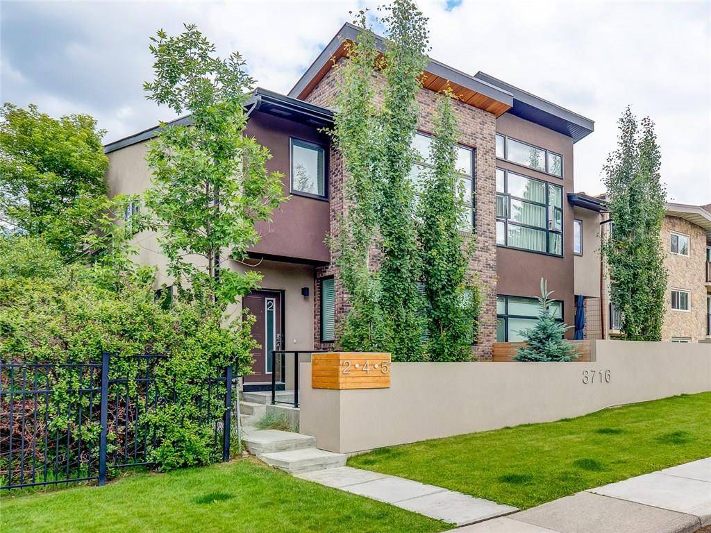 Townhouse for sale at 3716 15a St Sw Unit 5 Altadore, Calgary Alberta - MLS: C4228630