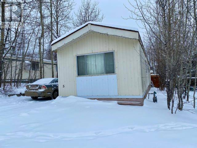 Residential property for sale at 3851 97 Hy Unit 5 Chetwynd British Columbia - MLS: 181941