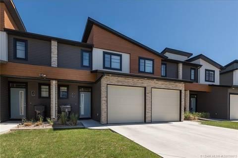 Townhouse for sale at 414 Highlands Blvd W Unit 5 Lethbridge Alberta - MLS: LD0159013