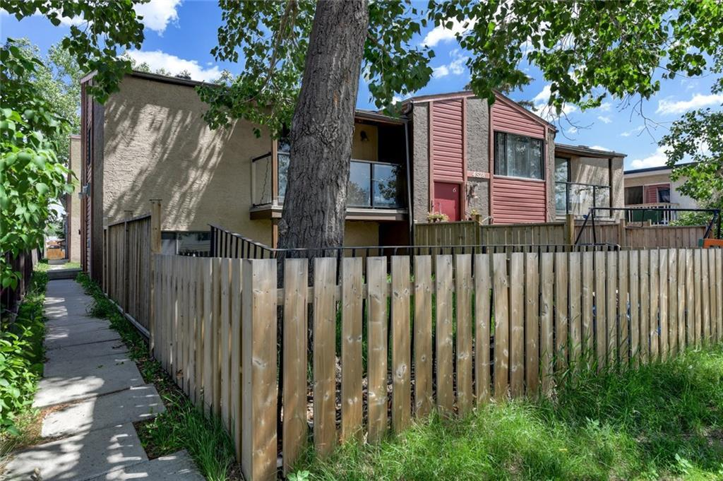 For Sale: 4528 75 Street Northwest, Calgary, AB | 2 Bed, 1 Bath Townhouse for $197,500. See 7 photos!