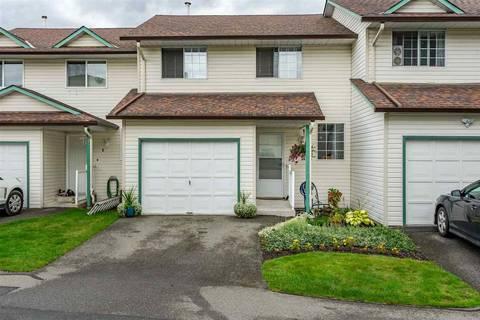 Townhouse for sale at 45640 Storey Ave Unit 5 Sardis British Columbia - MLS: R2405457