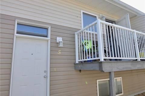 Townhouse for sale at 4605 55 St Unit 5 Ponoka Alberta - MLS: ca0159504