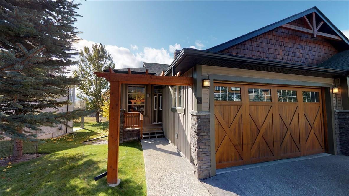 Townhouse for sale at 4840 Borrego Ridge Road  Unit 5 Radium Hot Springs British Columbia - MLS: 2441568