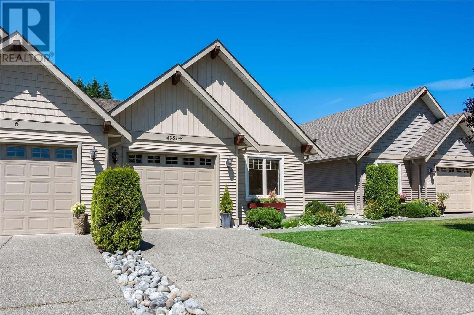 Townhouse for sale at 4951 Burke  Unit 5 Port Alberni British Columbia - MLS: 850545