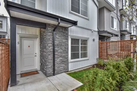 Townhouse for sale at 5867 129 St Unit 5 Surrey British Columbia - MLS: R2351278