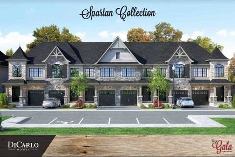 Townhouse for sale at 600 Maplehill Dr Unit 5 Burlington Ontario - MLS: W4666259