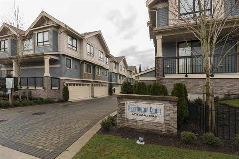 Townhouse for sale at 6028 Maple Rd Unit 5 Richmond British Columbia - MLS: R2331197