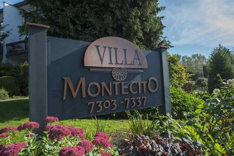 Townhouse for sale at 7315 Montecito Dr Unit 5 Burnaby British Columbia - MLS: R2412983