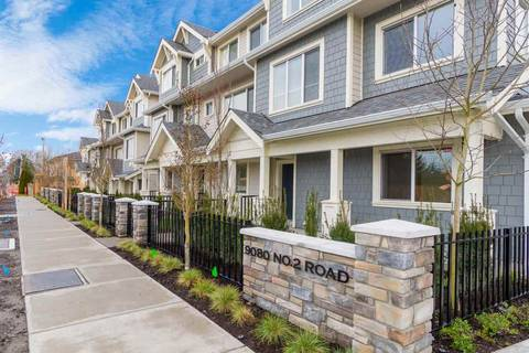 Townhouse for sale at 9080 No. 2 Rd Unit 5 Richmond British Columbia - MLS: R2432185