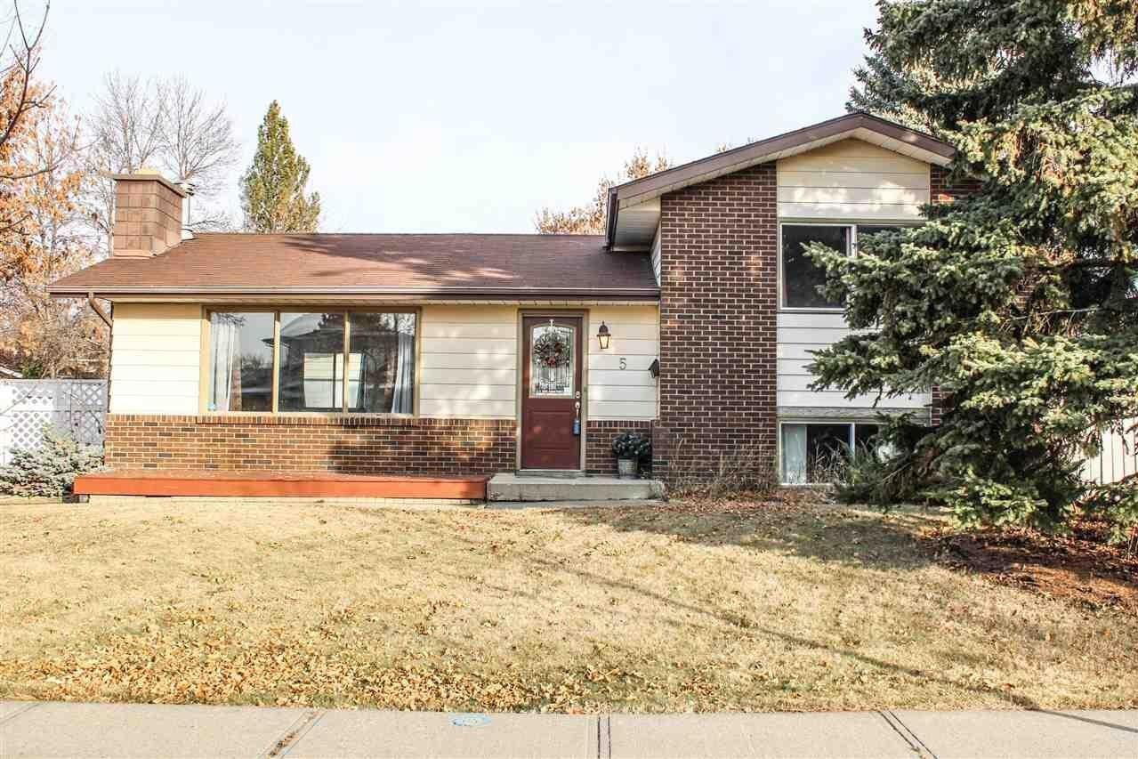 House for sale at 5 Andrew Cr St. Albert Alberta - MLS: E4218969