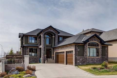 House for sale at 5 Aspen Meadows Pk Southwest Calgary Alberta - MLS: C4245267