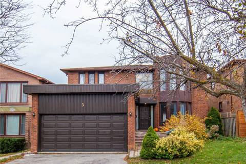 House for rent at 5 Clarinda Dr Toronto Ontario - MLS: C4640358