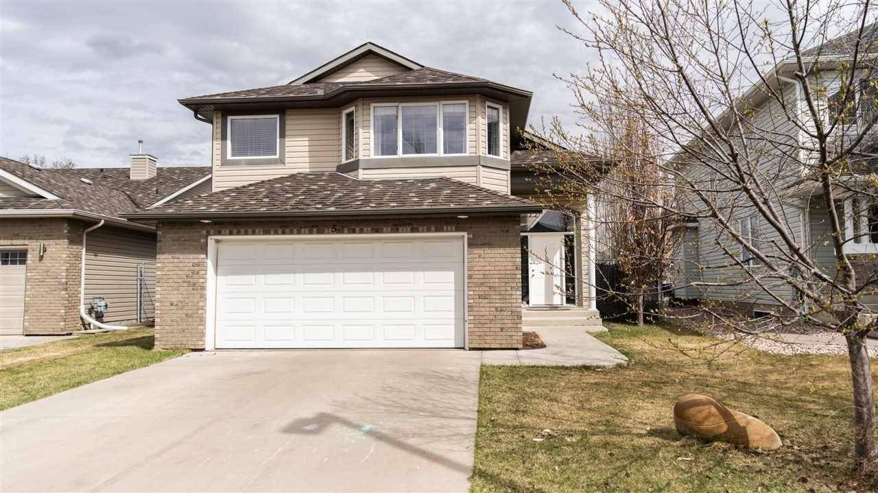 House for sale at 5 Creekside Cs Spruce Grove Alberta - MLS: E4195900