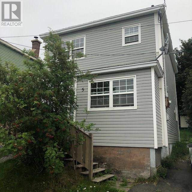 House for sale at 5 Goodridge St St. John's Newfoundland - MLS: 1202553