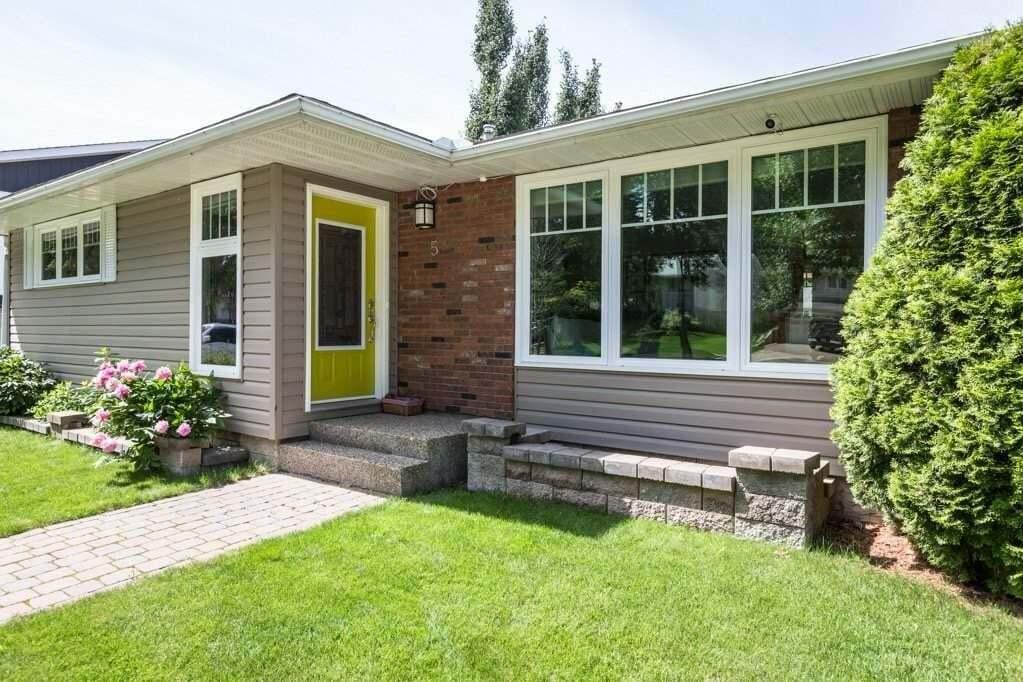 House for sale at 5 Graham Av St. Albert Alberta - MLS: E4205690