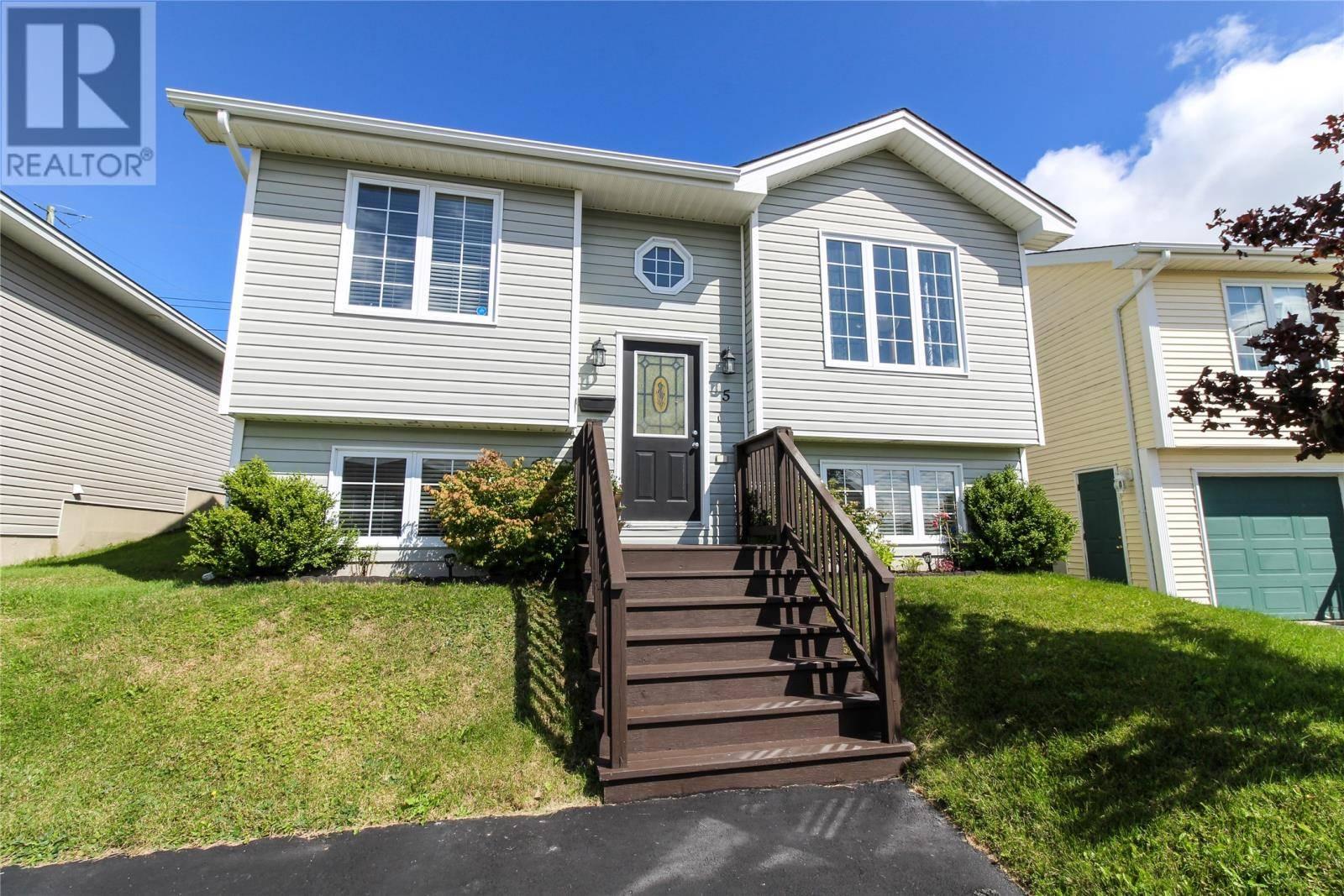 House for sale at 5 Irish Loop St St. John's Newfoundland - MLS: 1202837