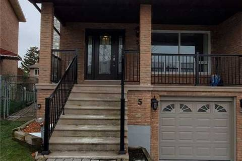 Townhouse for rent at 5 Ivan Nelson Dr Toronto Ontario - MLS: C4658790