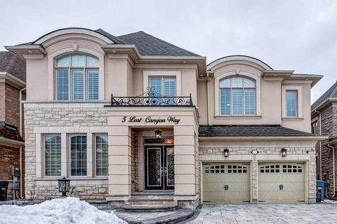 House for sale at 5 Lost Canyon Wy Brampton Ontario - MLS: W4735347